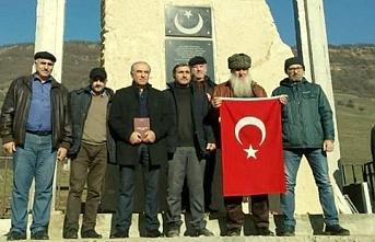 Dağıstan'da Osmanlı Türk şehitliği açıldı
