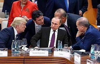 Erdoğan G-20'de Putin ile görüştü sırada Trump var