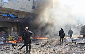 Esed rejiminden İdlib'e saldırı