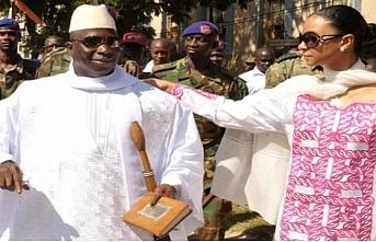 Eski Gambiya Başkanı ve ailesine ABD yasak