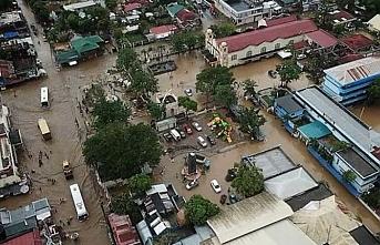 """Filipinler'de """"Usman"""" fırtınası, 68 ölü"""