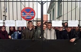 Gümülcine'de Türk öğrenciler boykot kararı aldı