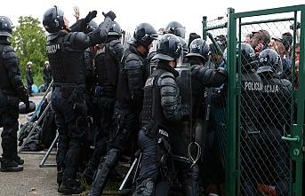 Hırvat polisinden tepki çeken uygulama