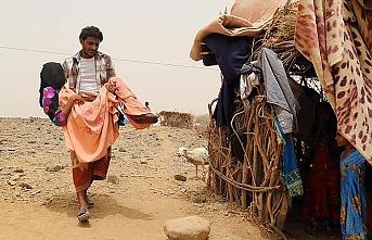 Hudeyde'den kaçan Yemenliler zor durumda