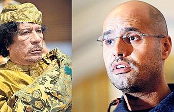 Kaddafi'nin veliahdına Libyalıların güveni tam