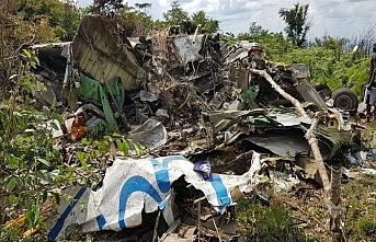 Kongo'da düşen uçakta Rus ve Kongolu mürettebat öldü