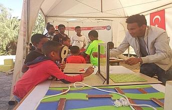 Matematik Müzesi Etiyopyalı öğrencilerle buluştu