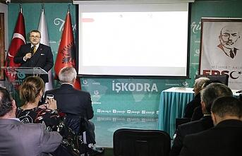 Mehmet Akif Ersoy Arnavutluk'ta anıldı