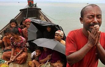 Myanmar katliamları protesto edildi
