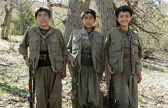 PKK, çocukları zorla silah altına alıyor