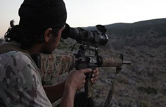 PKK'lı teröristler ÖSO mevzilerine saldırdı