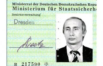 Putin'in casus kimliği ortaya çıktı
