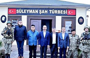 Şanlıurfa Valisi'nden Süleyman Şah Türbesi'ne ziyaret