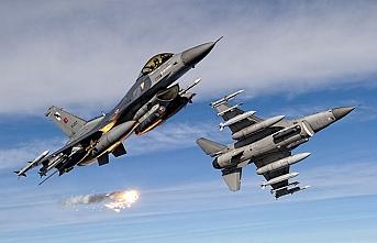 Karacak ve Sincar'a hava harekatı, 30 hedef vuruldu