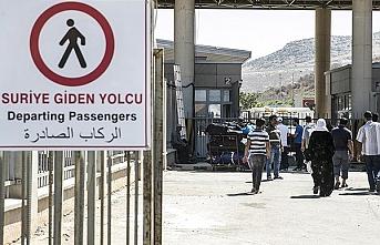 Soylu Suriye'ye geri dönenlerin sayısını açıkladı