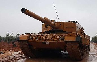 Tanklar Kilis'e ulaştı