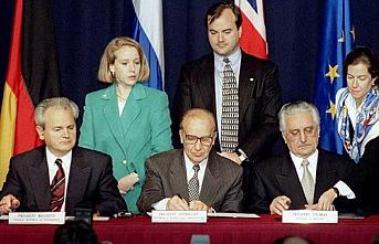 TARİHTE BUGÜN (14 Aralık): Bosna'da savaşı bitiren Dayton Antlaşması imzalandı