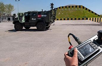 Türkiye'nin insansız kara aracı