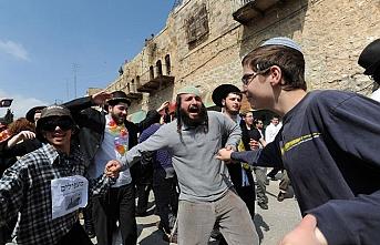 Yahudi yerleşimciler sınırı aştı, ölüm çağrısında bulundu