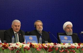 Yıldırım: İran, Rusya, Türkiye bölgesel iş birliğini sürdürmeye kararlıyız