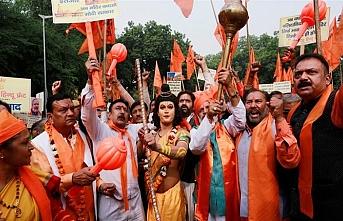 Babri cami arazisine Hindu tapınağı çağrısı