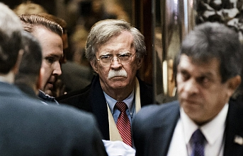 Bolton ve beraberindeki heyet Ankara'da