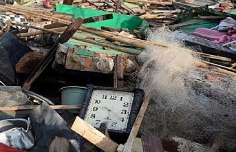 Endonezya'da yağış sonrası heyelan