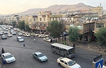 IKBY güçleri PKK yanlısı gösteriye izin vermedi