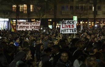 İsrail'deki Falaşalar polis vahşetini protesto etti