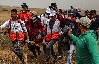 İsrail askerleri Batı Şeria'da 8 Filistinliyi yaraladı