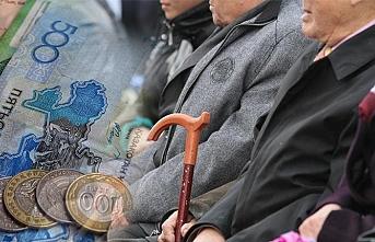 Kazakistan'da emekli maaşlarına Ocak 2019'dan itibaren zam