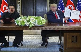 Kuzey Kore lideri Kim'den Trump ile yeniden görüşme mesajı