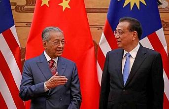 Malezya'dan Çin'le ortak projeler tıkandı