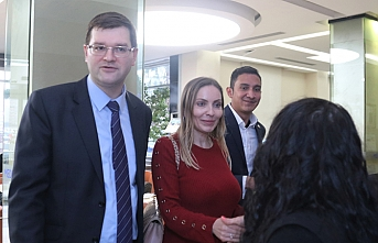 Panama'nın İstanbul Başkonsolosundan kazazedelere ziyaret
