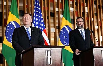 Pompeo, diplomatik ataklarına Latin Amerika'da devam ediyor
