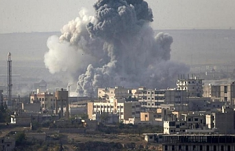Rus uçakları Suriye'de hava saldırısı düzenledi