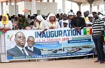 Senegal'de Türk yatırımı Hal Kompleksi açıldı