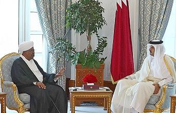 Sudan Devlet Başkanı Beşir ile Katar Emiri Al Sani görüştü