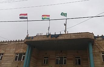 Türkmenlerden Kerkük'teki IKBY bayrağına tepki