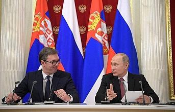 Vucic ve Putin görüşmesinin gündemi Kosova