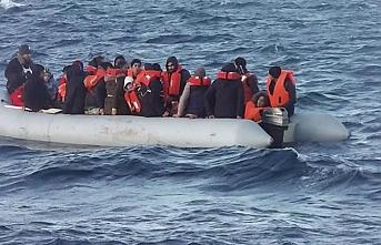 Aydın'da göçmenler kurtarıldı