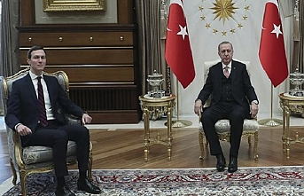 Erdoğan ve Trump'ın asistanı Kushner İsrail sorununu görüştü