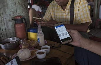 Facebook'tan Myanmar'a destek