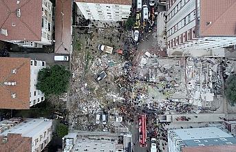 İstanbul Valiliği, Kartal'da çöken binada yaralananları açıkladı