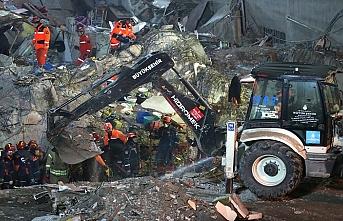 Kartal'da kurtarma çalışmaları devam ediyor, can kaybı 17