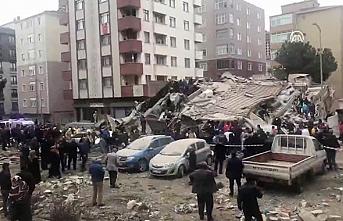 Kartal Orhantepe'de 7 katlı bina çöktü