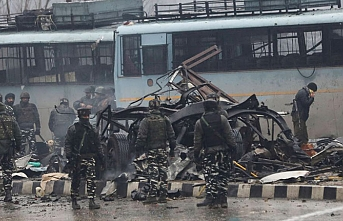 Keşmir saldırısında ölen Hint polisi sayısı 44 oldu