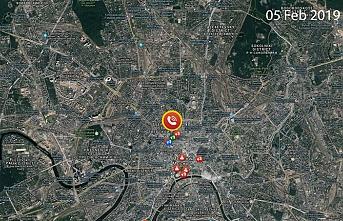 Moskova'da bomba alarmı binlerce kişi tahliye edildi