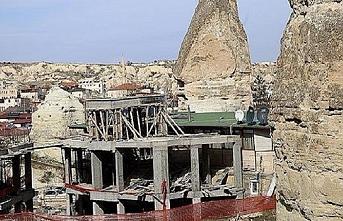 Peribacaları'nda yıkım günü bugün