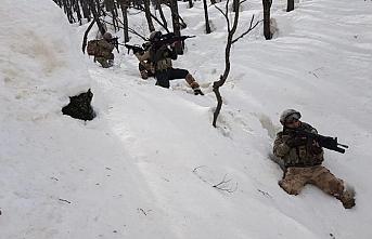 Siirt'te 9 PKK sığınağı imha edildi